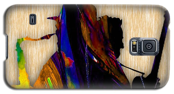 Bruce Springsteen And Clarence Clemons Galaxy S5 Case by Marvin Blaine
