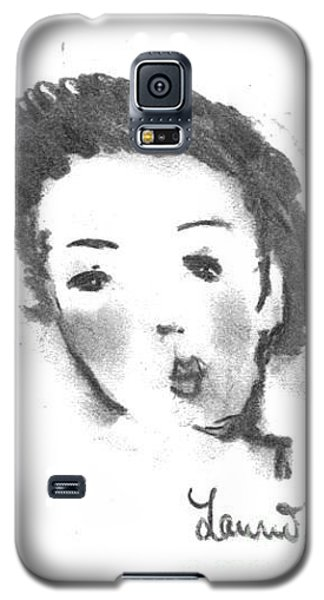 Galaxy S5 Case featuring the drawing Bubble Gum by Laurie L