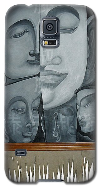 Buddish Facial Reactions Galaxy S5 Case by Fei A