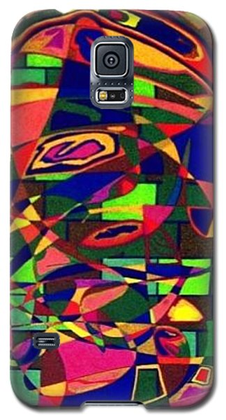 Galaxy S5 Case featuring the painting Bulwark by Jonathon Hansen