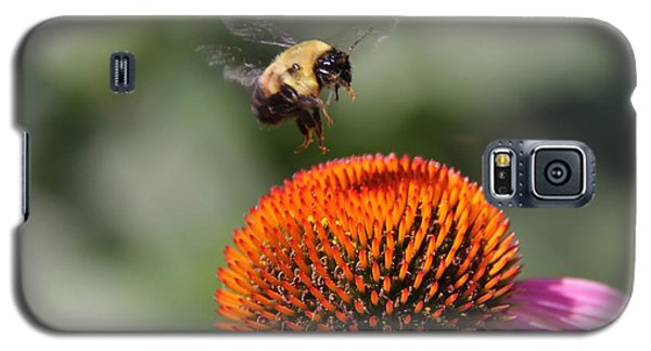 Galaxy S5 Case featuring the photograph Bumblebee   by Yumi Johnson