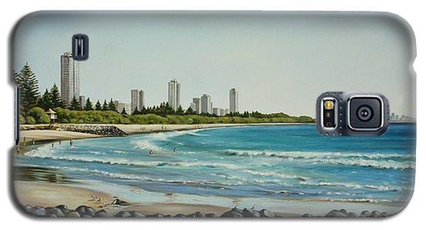 Burleigh Beach 210808 Galaxy S5 Case