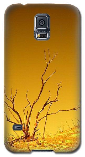 Burnt Bush Galaxy S5 Case