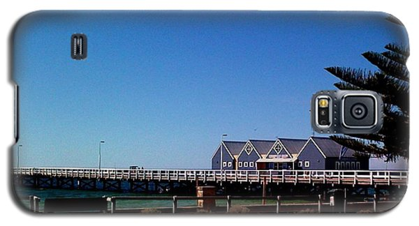 Galaxy S5 Case featuring the photograph Busselton Jetty by Therese Alcorn