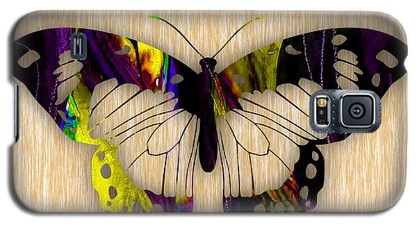Butterfly Painting Galaxy S5 Case