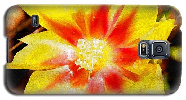 Cactus Flower Wc Galaxy S5 Case