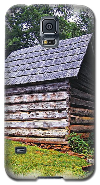 Cades Cove Shed Galaxy S5 Case