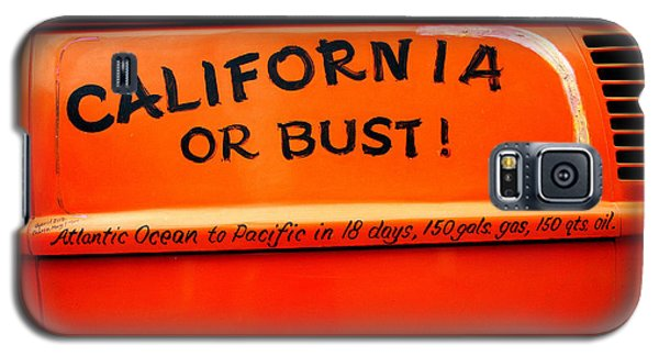 California Or Bust Galaxy S5 Case