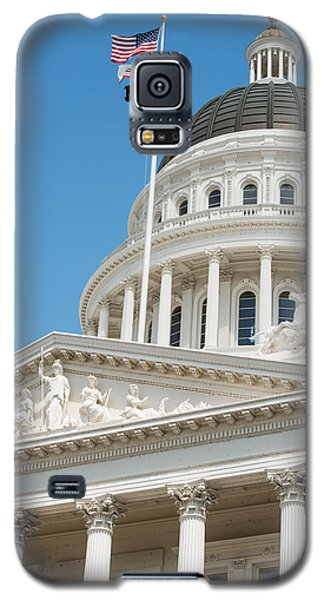 California State Capitol In Sacramento Galaxy S5 Case