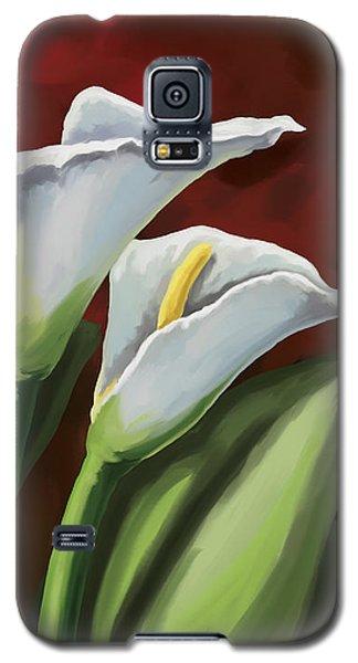 Calla Lilies  Galaxy S5 Case by Tim Gilliland