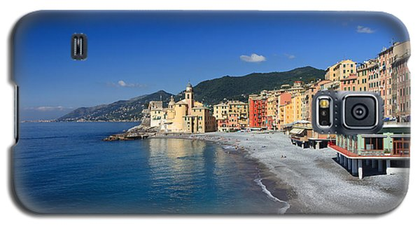 Galaxy S5 Case featuring the photograph Camogli - Italy by Antonio Scarpi