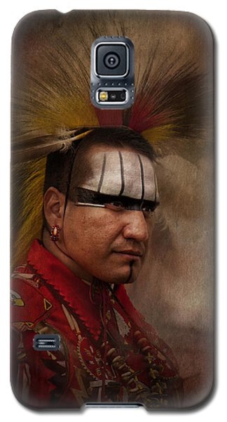 Canadian Aboriginal Man Galaxy S5 Case