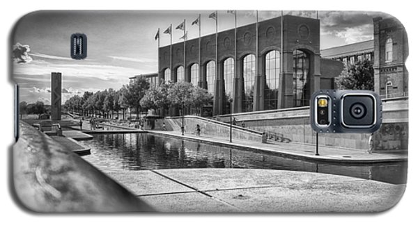 Galaxy S5 Case featuring the photograph Canal Walk by Howard Salmon