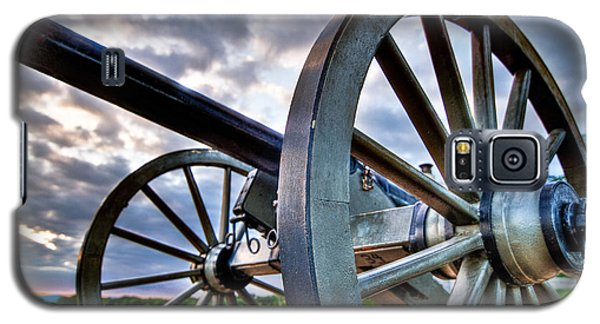 Cannon Over Gettysburg Galaxy S5 Case