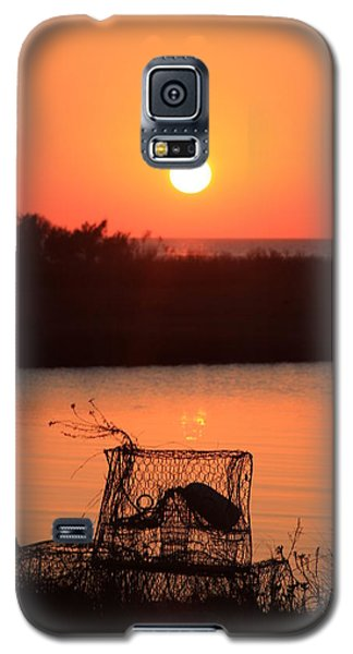 Galaxy S5 Case featuring the photograph Cape Hatteras Sunset North Carolina by Mountains to the Sea Photo