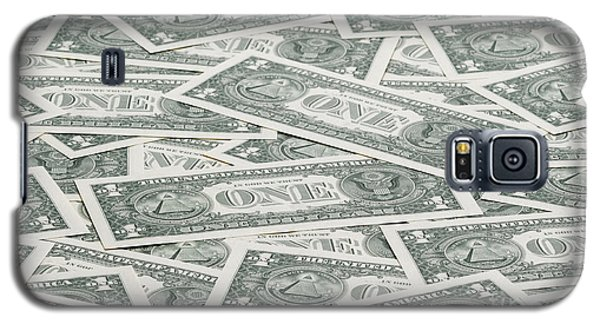 Galaxy S5 Case featuring the photograph Carpet Of One Dollar Bills by Lee Avison