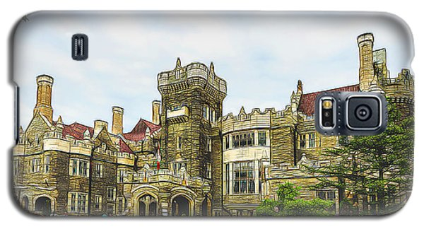 Casa Loma In Toronto Galaxy S5 Case by Les Palenik