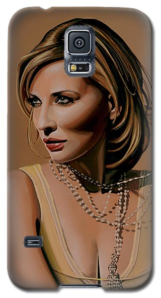 Elf Galaxy S5 Case - Cate Blanchett Painting  by Paul Meijering