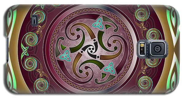 Celtic Pattern Galaxy S5 Case by Ireland Calling