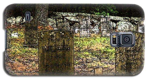 Cemetery Galaxy S5 Case by Mim White