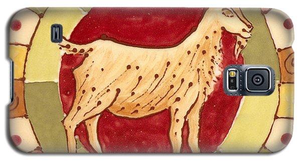 Ceramic Goat Galaxy S5 Case