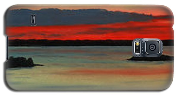 Chambers Island Sunset II Galaxy S5 Case