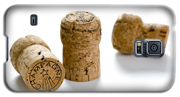 Galaxy S5 Case featuring the photograph Champagne Corks by Lee Avison