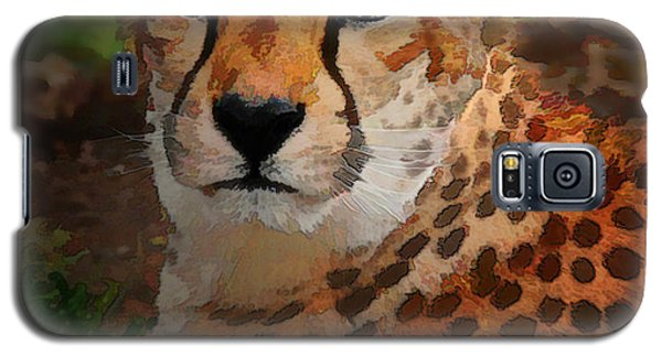 Cheetah Mama Galaxy S5 Case
