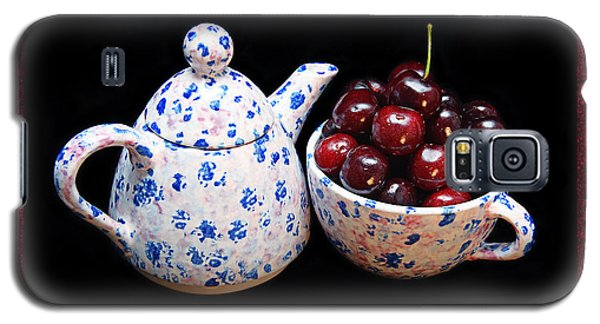 Cherries Invited To Tea 2 Galaxy S5 Case
