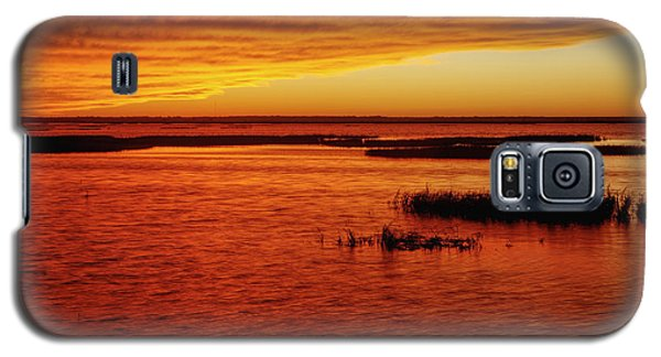 Cheyenne Bottoms Sunset Galaxy S5 Case