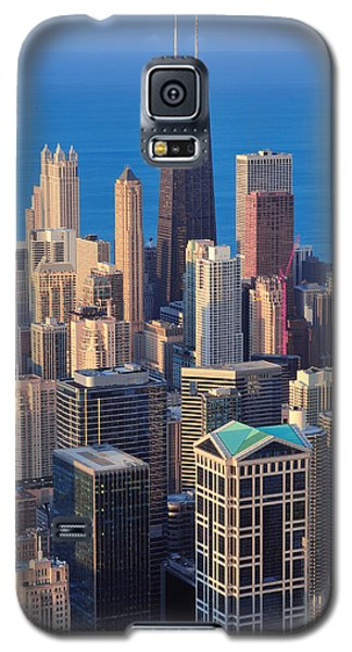 Chicago Aerial View Galaxy S5 Case