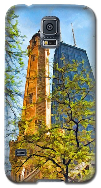 Chicago Water And Hancock Towers Galaxy S5 Case