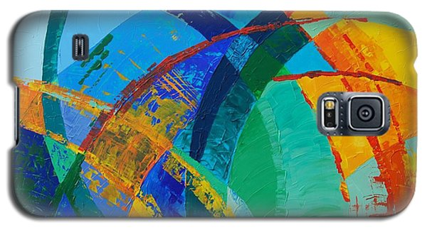 Galaxy S5 Case featuring the painting Choices by Linda Bailey