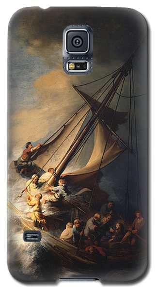 Christ In The Storm On The Sea Of Galilee Galaxy S5 Case