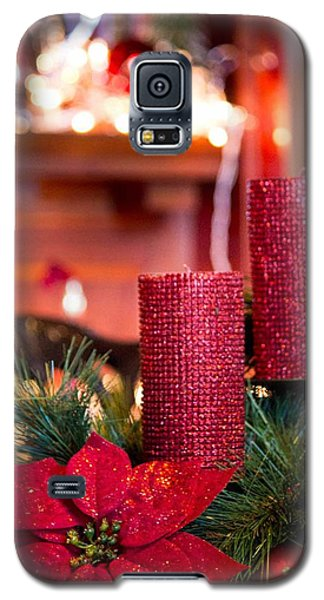 Christmas Candles Galaxy S5 Case by Patricia Babbitt