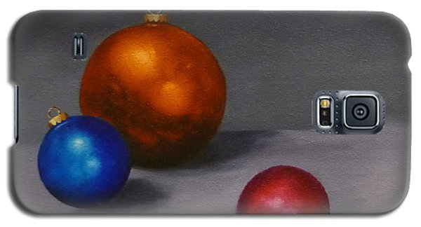 Galaxy S5 Case featuring the painting Christmas Glow Greeting Card  by Jo Appleby
