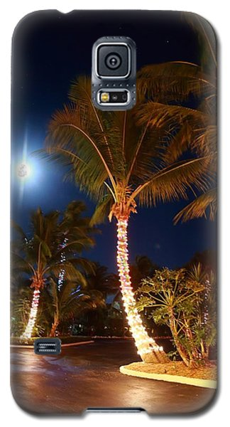 Christmas Palms Galaxy S5 Case