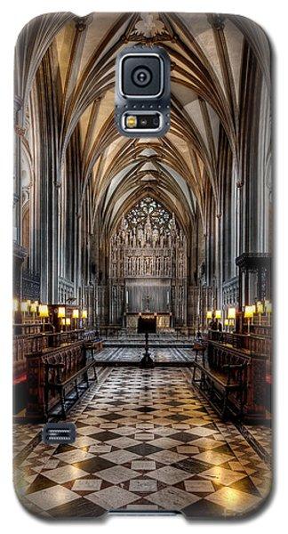 Church Interior Galaxy S5 Case by Adrian Evans