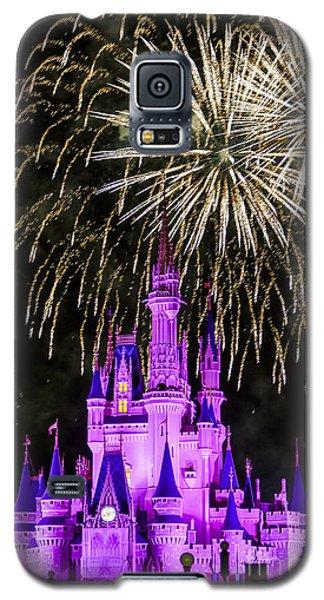 Magic Kingdom Cinderella Castle Galaxy S5 Case