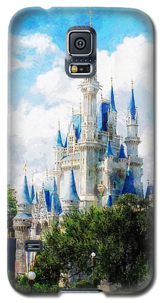 Cinderella Castle Galaxy S5 Case