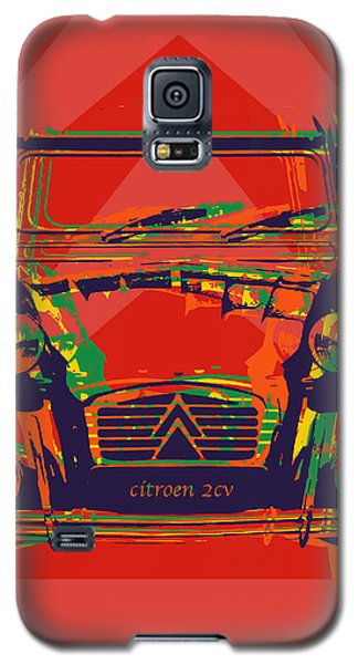 Citroen 2cv Galaxy S5 Case by Jean luc Comperat