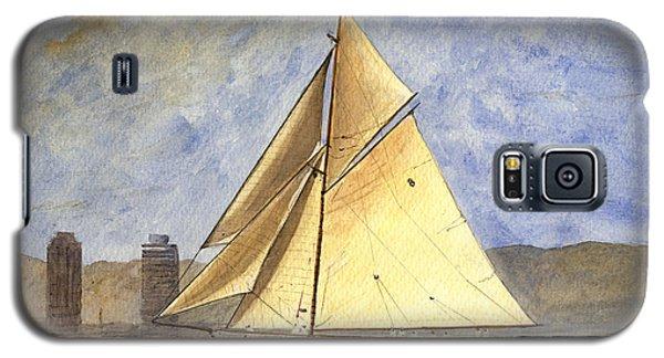 Classic Yacht Barcelona Galaxy S5 Case by Juan  Bosco