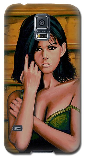 Claudia Cardinale Painting Galaxy S5 Case