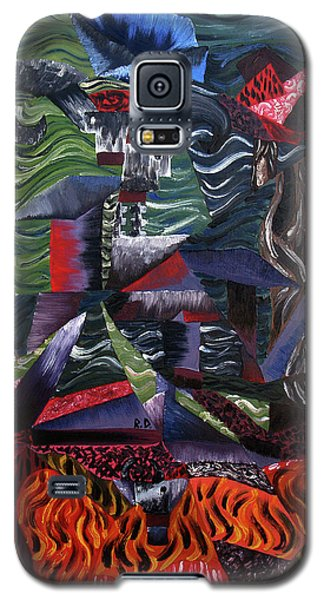 Galaxy S5 Case featuring the painting Cocytemensia by Ryan Demaree
