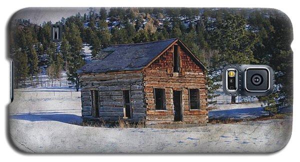 Colorado Log Cabin Galaxy S5 Case