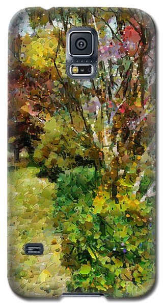Colourful Garden Galaxy S5 Case