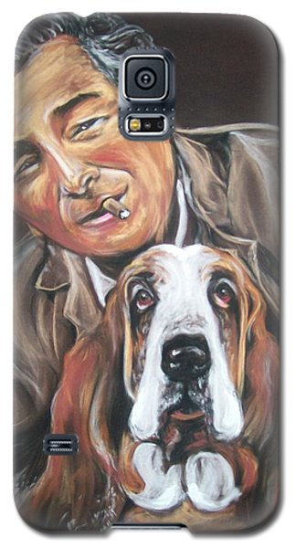 Columbo And Dog Galaxy S5 Case