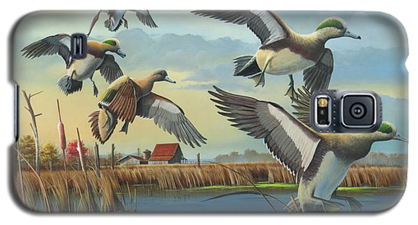 Galaxy S5 Case featuring the painting Coming Home by Mike Brown