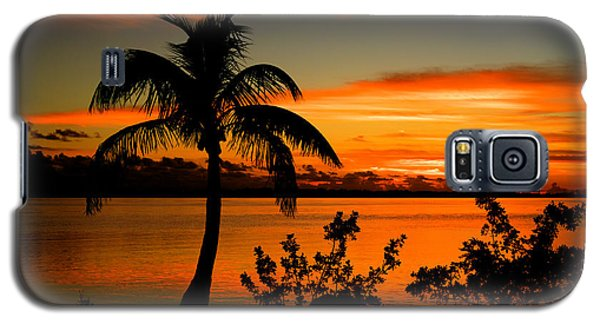 Conch Key Bay Sunset Galaxy S5 Case