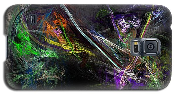 Galaxy S5 Case featuring the digital art Conflict by David Lane